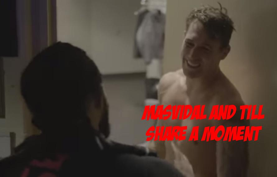 VIDEO: Jorge Masvidal And Darren Till Have Kind Exchange Post-UFC 244