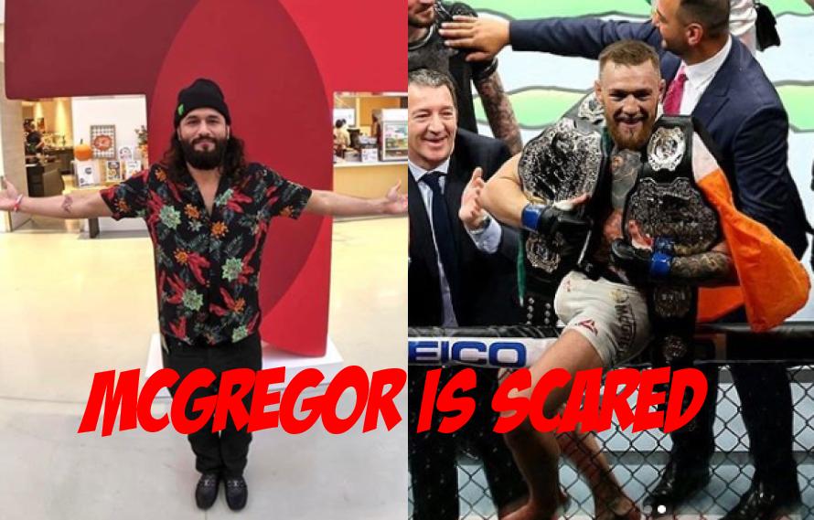 Jorge Masvidal Blasts McGregor: 'Since I've Won, He Hasn't Said A Peep'
