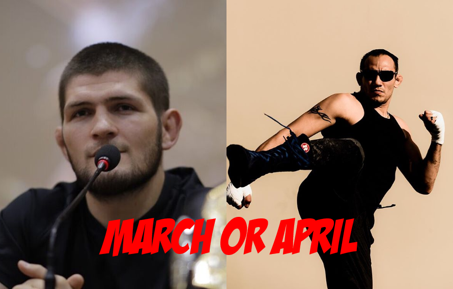 Khabib: Tony Ferguson Fight Happening In 'March Or April'