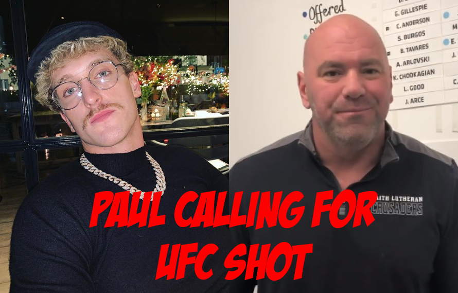 Logan Paul Will Call Out Dana White After KSI Match On Saturday!