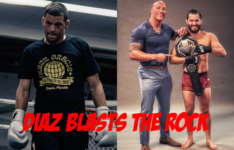 """Nate Diaz Blasts """"The Rock"""": 'He Can Get His A– Whooped Too!'"""