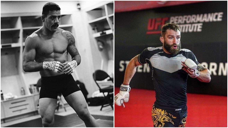 Rafael Dos Anjos vs Michael Chiesa Slated for UFC Raleigh