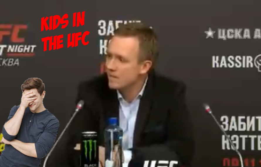 Wait, Did Someone Seriously Ask If Kids Would Fight In The UFC?