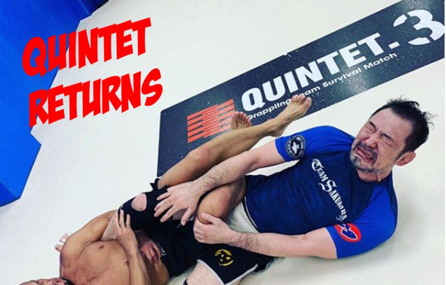 Quintet Grappling Returns With PRIDE vs UFC Matchups