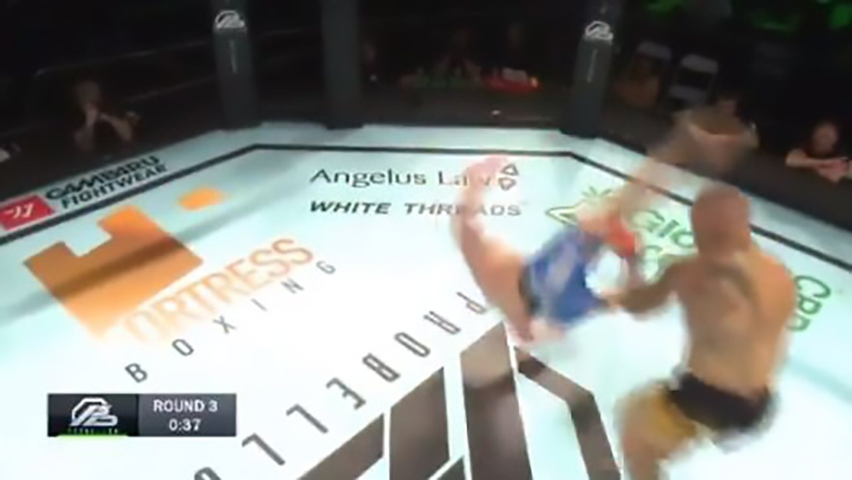 Davy Gallon Annihilated UFC Vet Ross Pearson Via Superb Kick (Highlights)