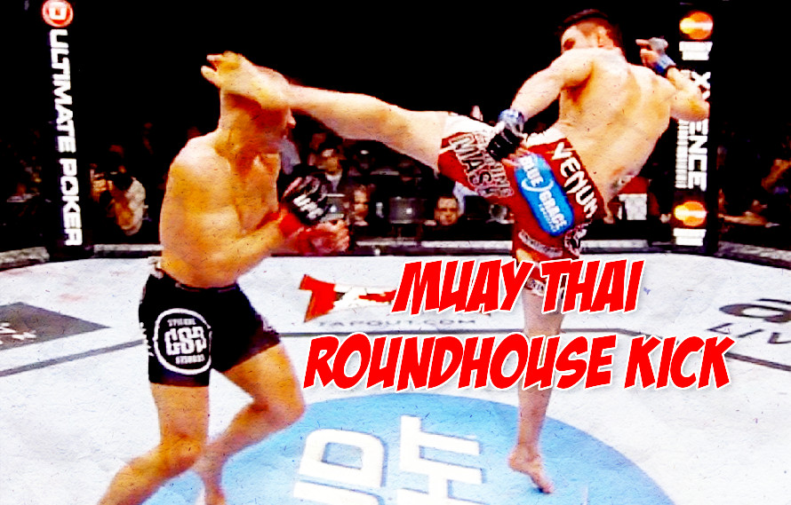 Watch: How To Do A Muay Thai Roundhouse Kick