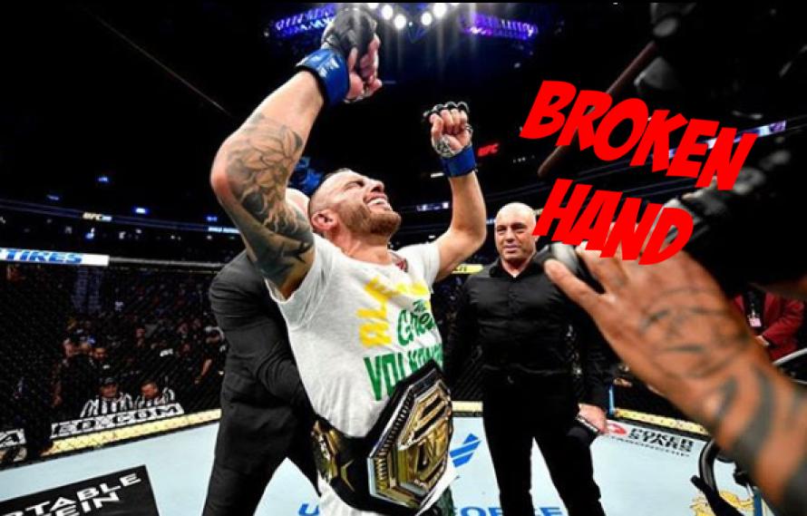 Alexander Volkanovski Needs Hand Surgery Following UFC 245 Title Win