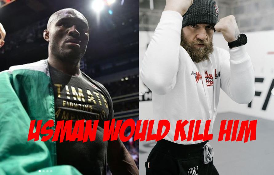 Ali Abdelaziz: McGregor Will 'Probably Get Crippled' If He Fights Usman