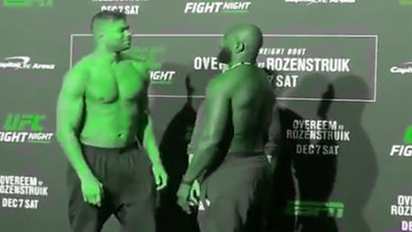 How To Watch Ufc On Espn 7 Overeem Vs Rozenstruik Fight