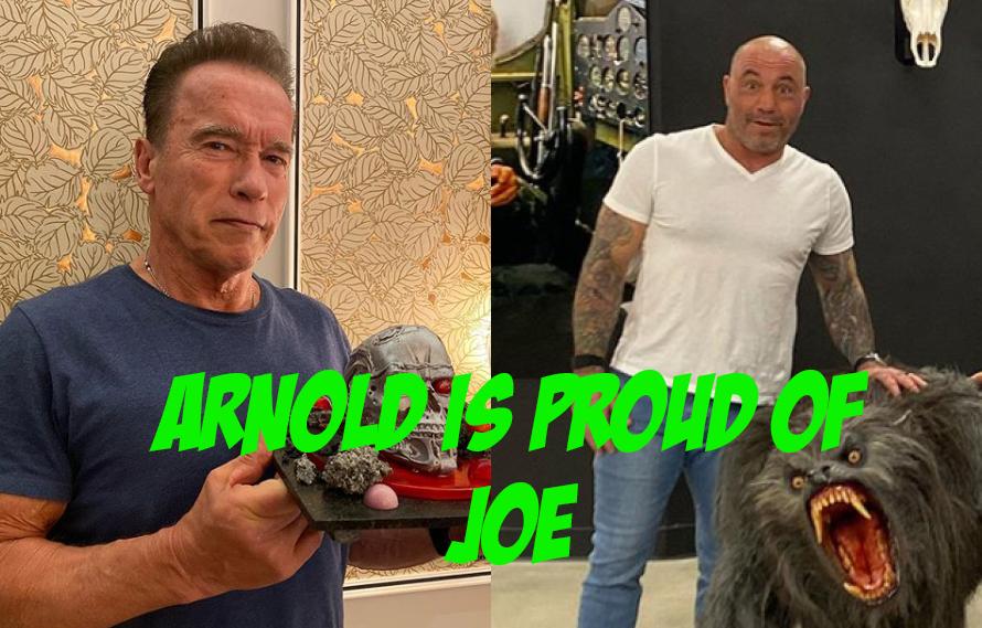 Arnold Schwarzenegger Praises Joe Rogan For 'Having An Open Mind' About The Game Changers