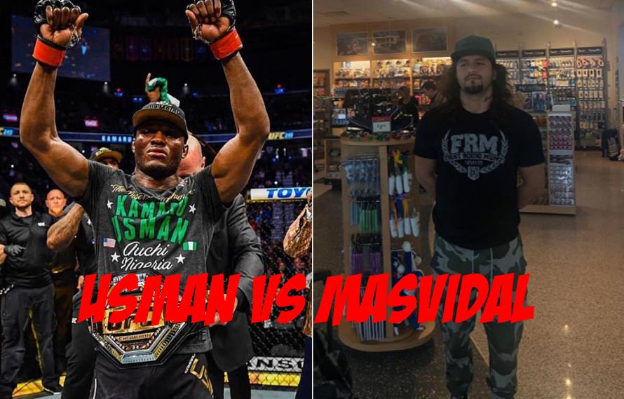 Dana White Interested In Booking Kamaru Usman vs Jorge Masvidal