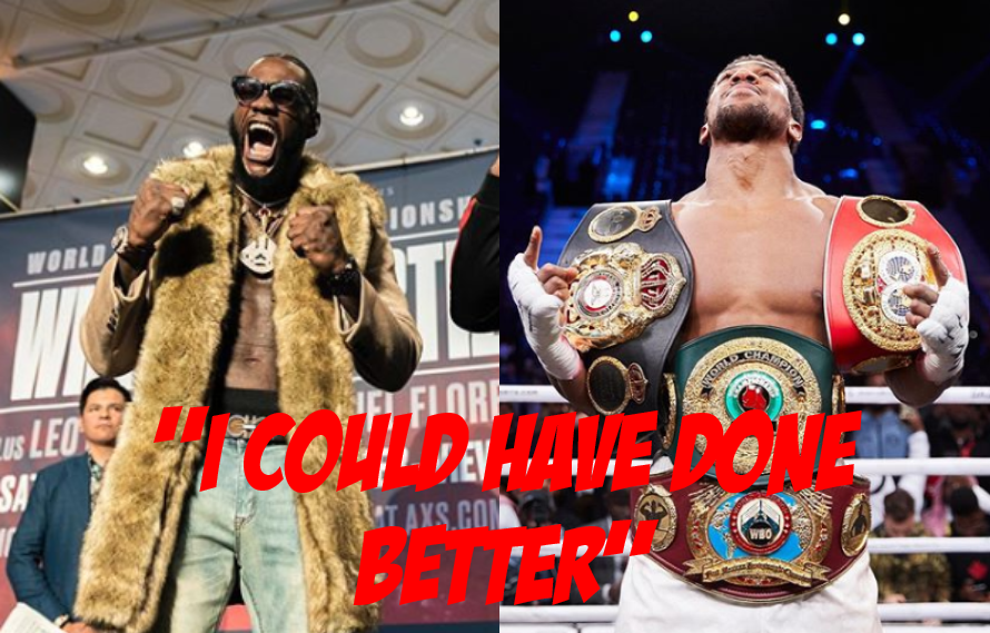 Deontay Wilder Tears Into Joshua And Ruiz Jr. For Performances