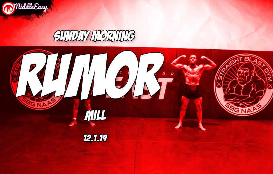 McGregor deal, Tony-Khabib negotiations, & more in the Sunday Morning Rumor Mill