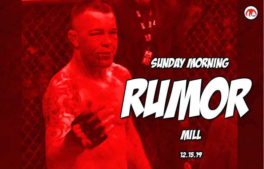 Zuffa Boxing struggles, Colby rematch, & more in the Sunday Morning Rumor Mill