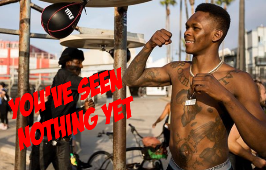 Israel Adesanya Talks His Unseen Ground Game: 'Khabib Isn't The Only One Who Can Maul People'