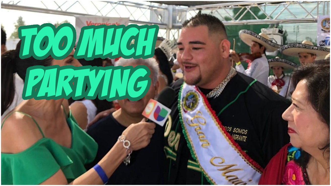 Andy Ruiz Blames Anthony Joshua Loss on Partying TOO Hard