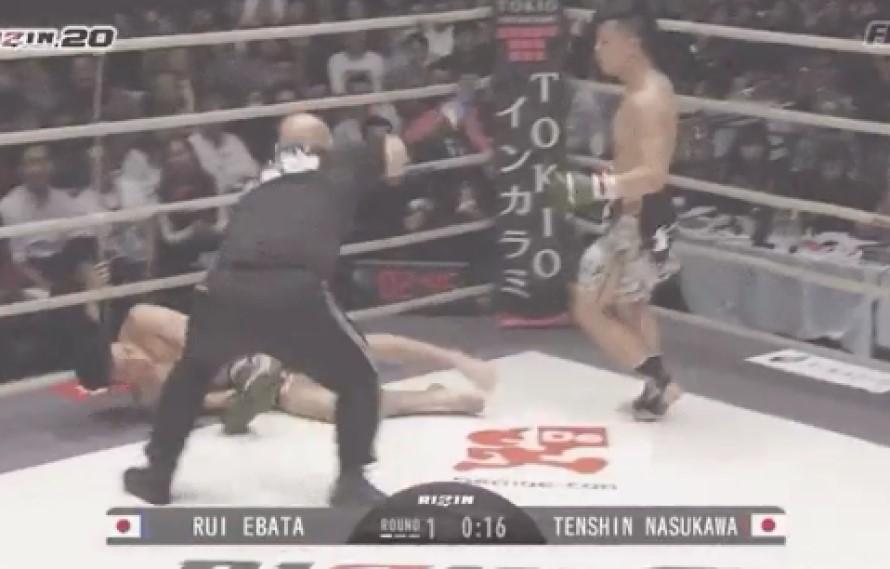 HIGHLIGHTS: Tenshin Nasukawa Obliterates Rui Ebata At Rizin 20