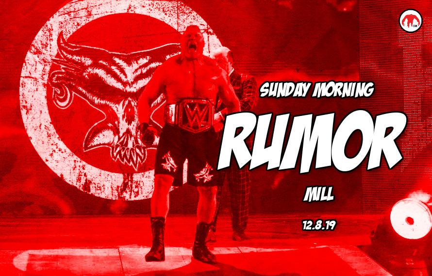 Lesnar vs. Fury, Khabib drug test, & more in the Sunday Morning Rumor Mill