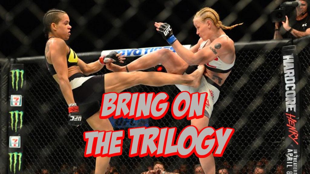 Valentina Shevchenko Certain Trilogy Fight Happens With Amanda Nunes