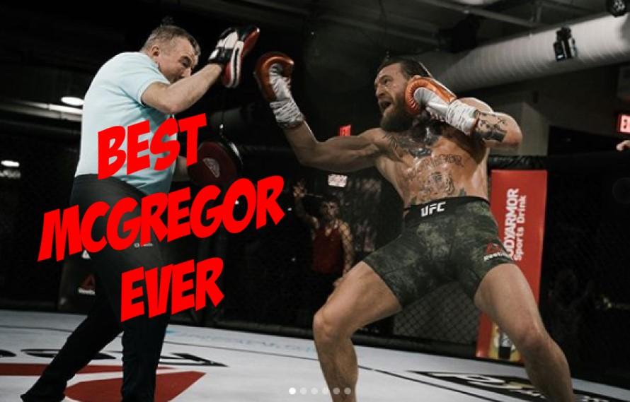 UFC Doctor Says Conor McGregor 'Is In The Best Shape He's Ever Seen'
