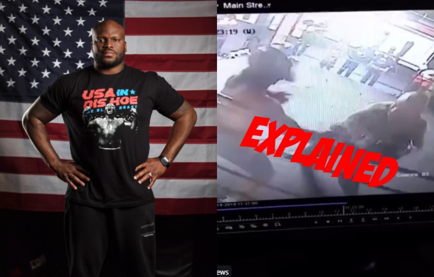 Derrick Lewis Explains Knocking Out Boxer In Gym Footage