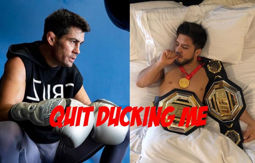 Dominick Cruz Slams Henry Ceujdo For Trying To Duck Him For Jose Aldo