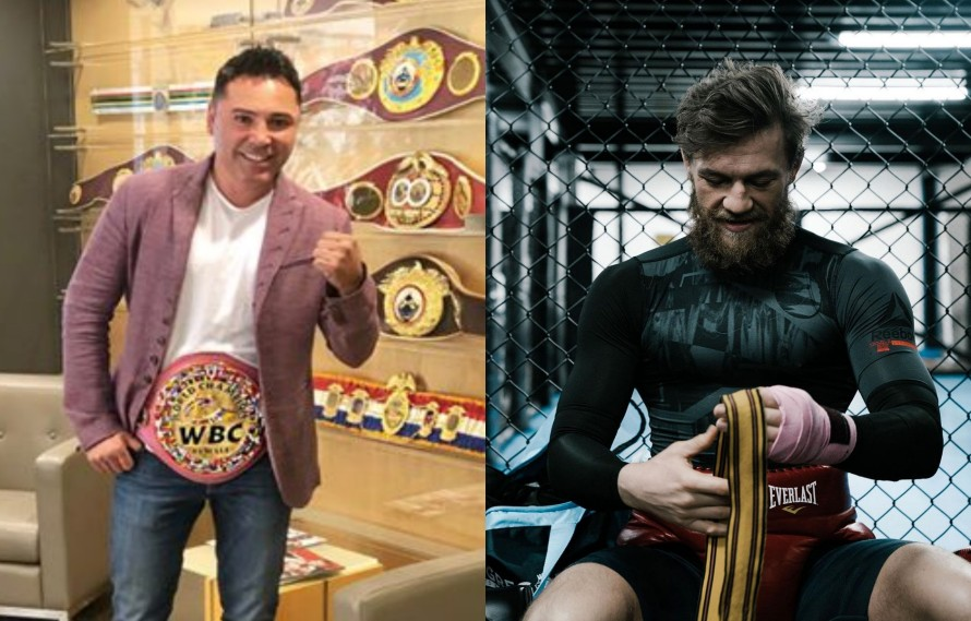 Oscar De La Hoya Warns Conor McGregor To 'Stay In Your Lane' And Out Of Boxing