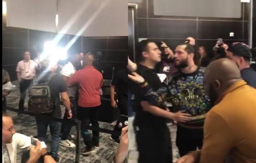 Jorge Masvidal And Kamaru Usman Get Into Altercation (VIDEO)