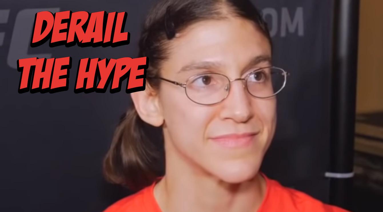 Roxanne Modafferi Plans to Derail Maycee Barber Hype Train at UFC 246