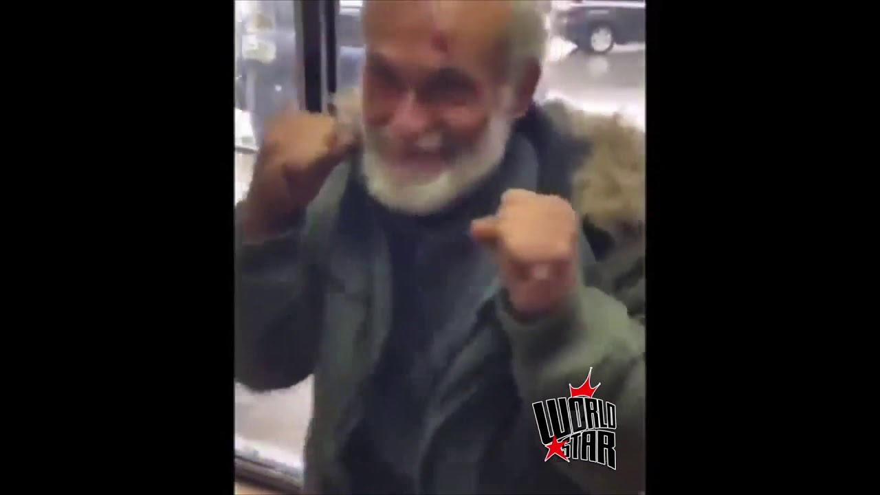 Street MMA: Old Yankees Fan Gets Bronx BOMBED With a Two Piece
