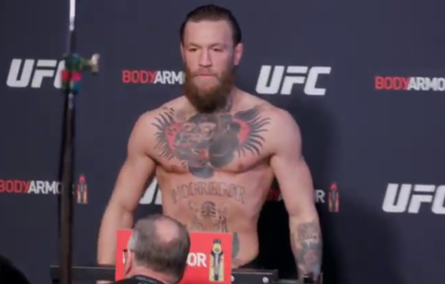 UFC 246 Early Weigh In Results: McGregor & Cerrone Make Weight