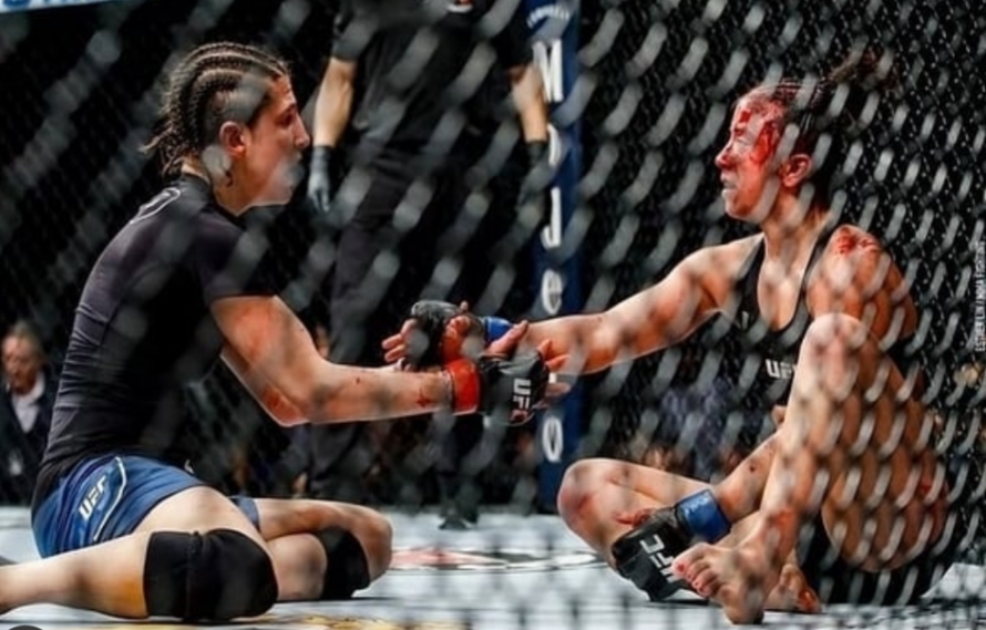 Maycee Barber Suffered ACL Tear 'In The First 10 Seconds' Against Modafferi