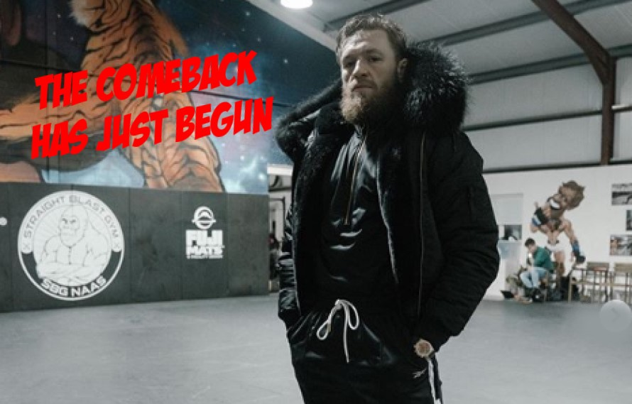 Conor McGregor Is 'On A Good Comeback Story' After Setbacks, Says Coach