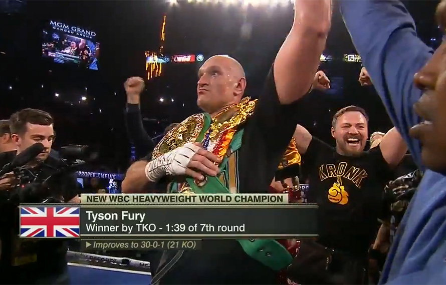 Fury annihilates Wilder in boxing heavyweight title rematch