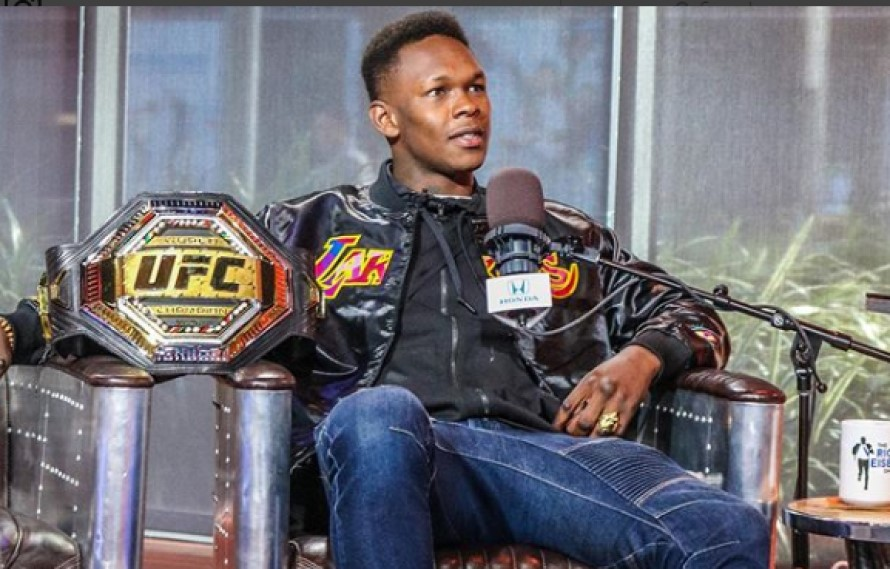 Israel Adesanya Honored With New Zealand Sportsman Of The Year Award