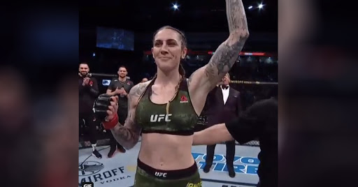 UFC Norfolk Results: Megan Anderson FLATTENS Norma Dumont in Round 1 (Highlights)
