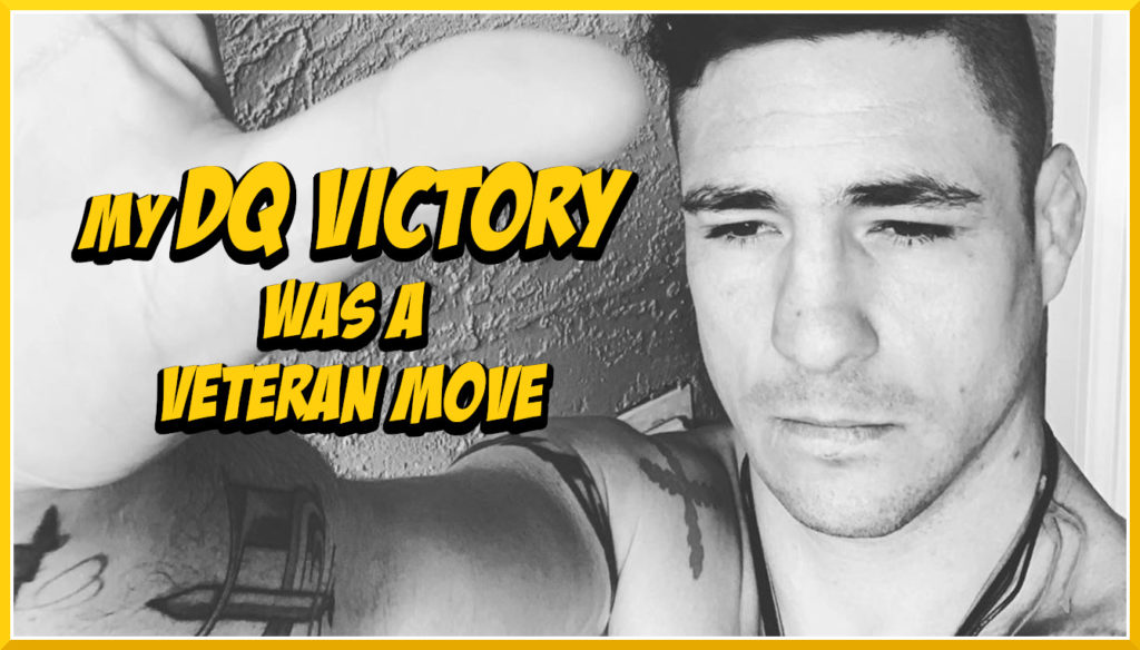 Diego Sanchez Explains His Choice in Taking DQ Victory