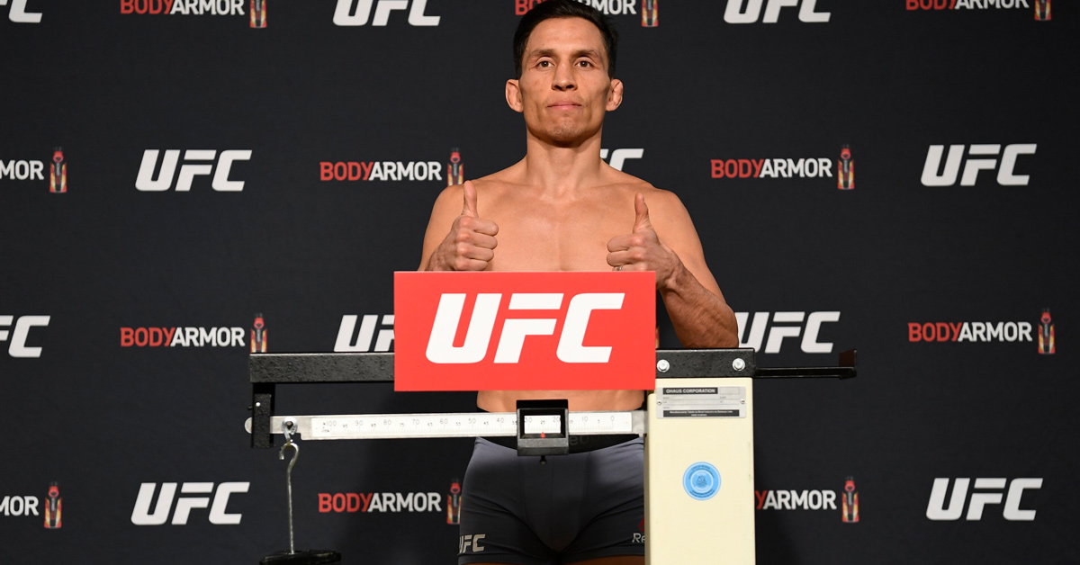 (Video) UFC On ESPN+ 27 Weigh-In Results: Deiveson Figueiredo Missed Flyweight Limit Can't Win Title