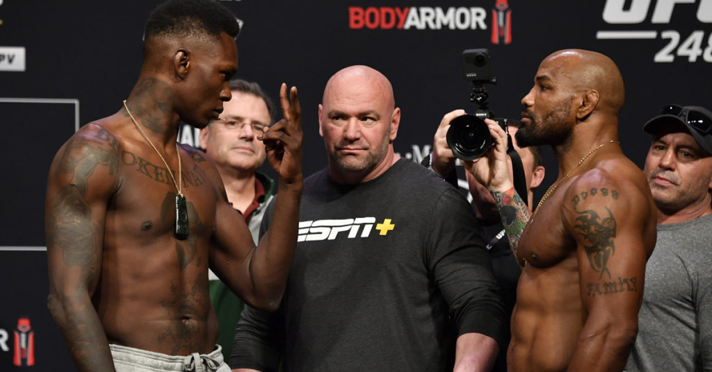 """How To Watch UFC 248 """"Adesanya vs. Romero"""": Full Fight Card, Start Time & Results"""
