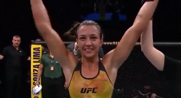 UFC Brasilia Results: Amanda Ribas Dominates Randa Markos (Highlights)