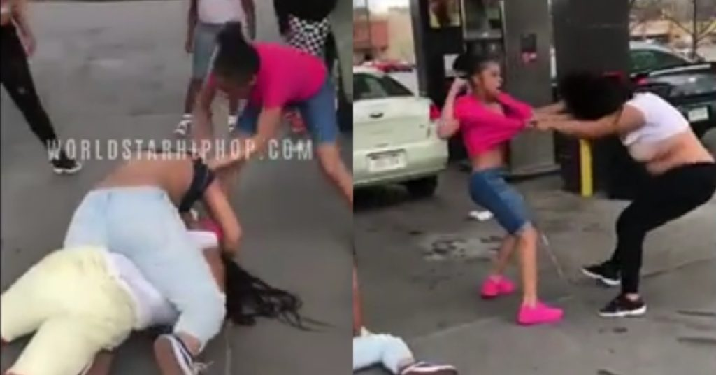 Street MMA: Use This 12-yo Girl For All Your Street Fight Needs