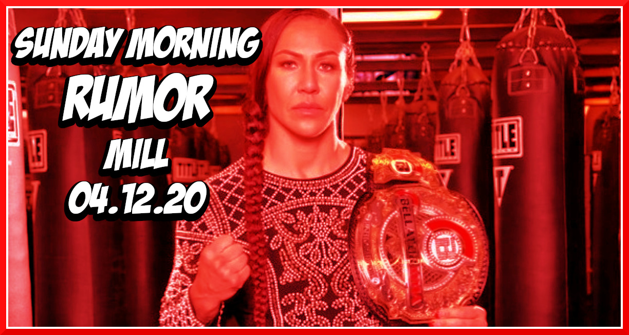Cyborg vs Braekhus, Juicing During Isolation & More On The Sunday Morning Rumor Mill