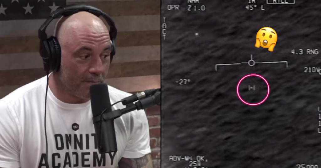 Joe Rogan Dives Deep Into UFO Theories Following Release Of Navy Footage