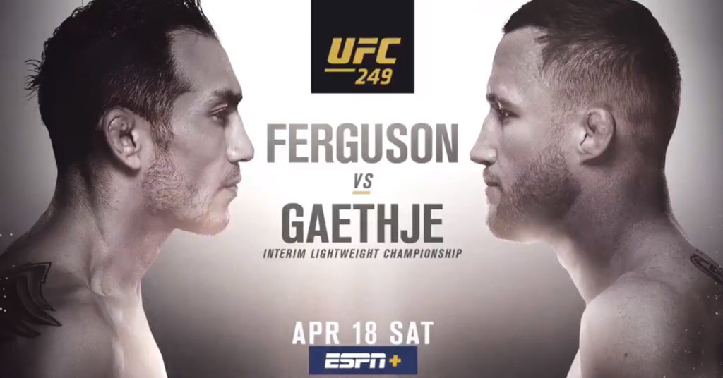 Promotion Releases UFC 249 'Ferguson vs. Gaethje' Promo 'The Most Stacked Card of The Year'