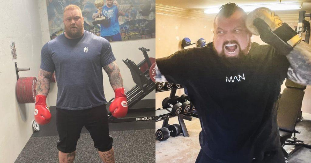 GOT's 'The Mountain,' Hafthor Bjornsson And Fellow Strongman Eddie Hall Agree To Box