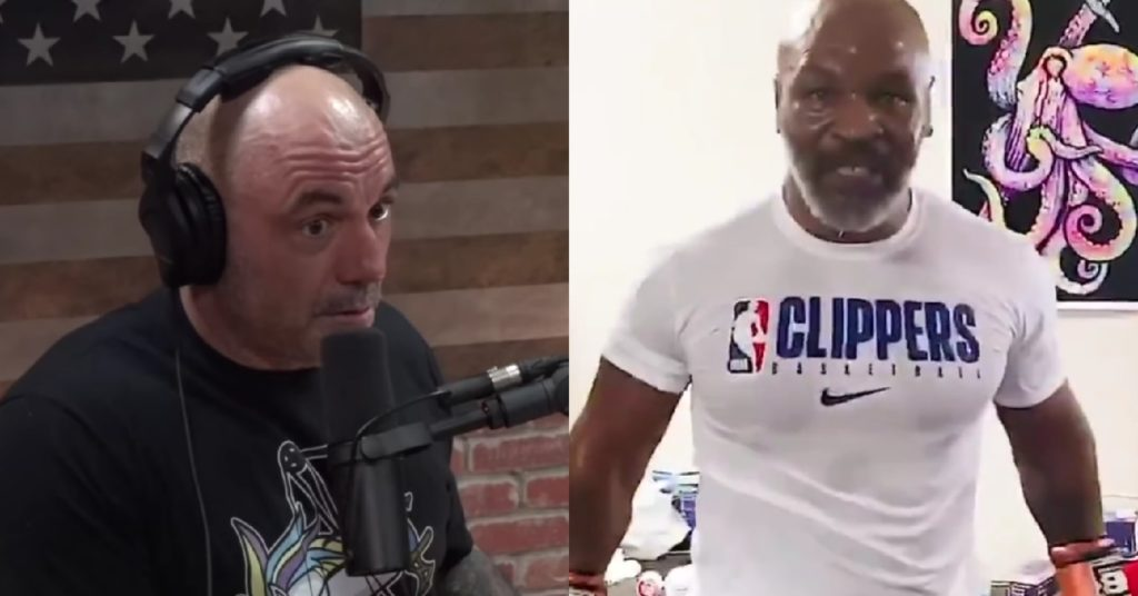 Joe Rogan Suggests Mike Tyson Use TRT For Boxing Comeback