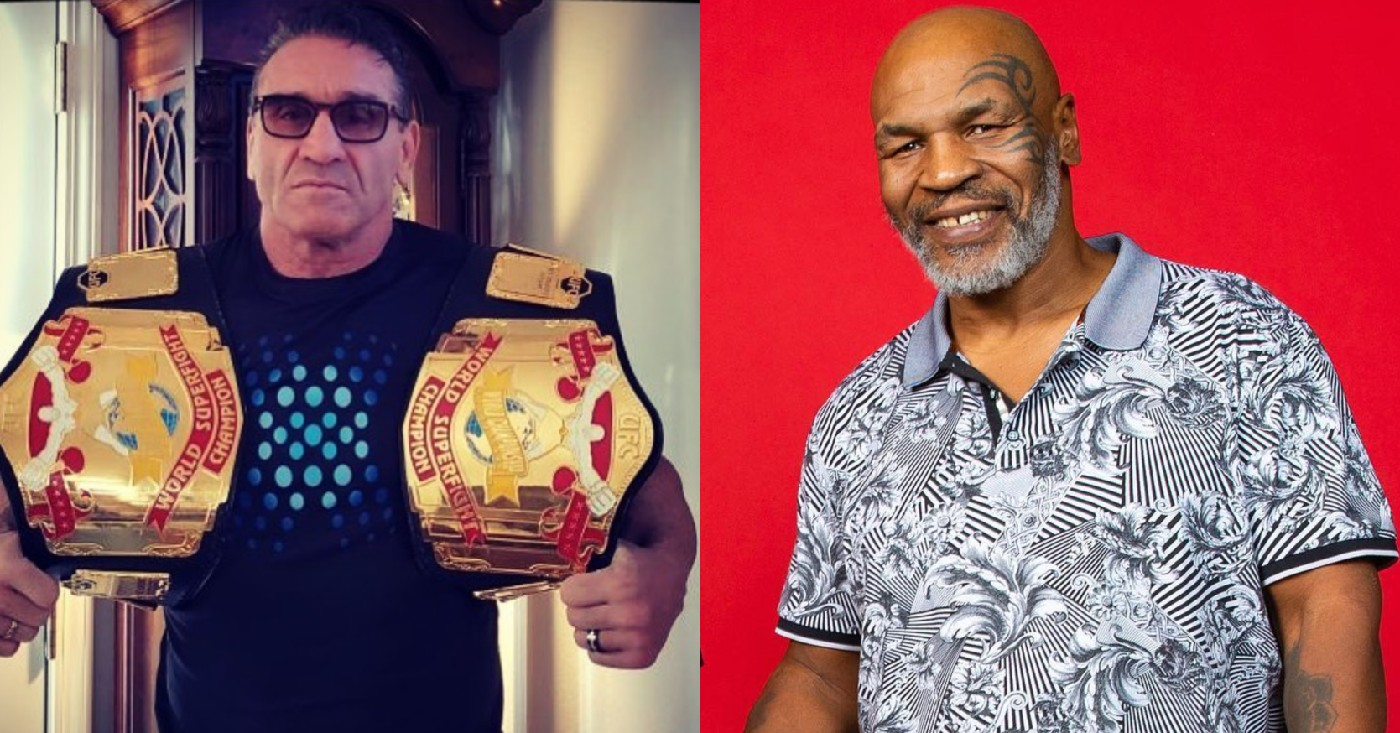 Ken Shamrock Mike Tyson Would Be A Perfect Fight For Me Middleeasy