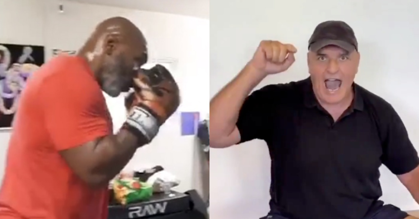 Mike Tyson Called Out By Tyson Fury's Father For Charity Match
