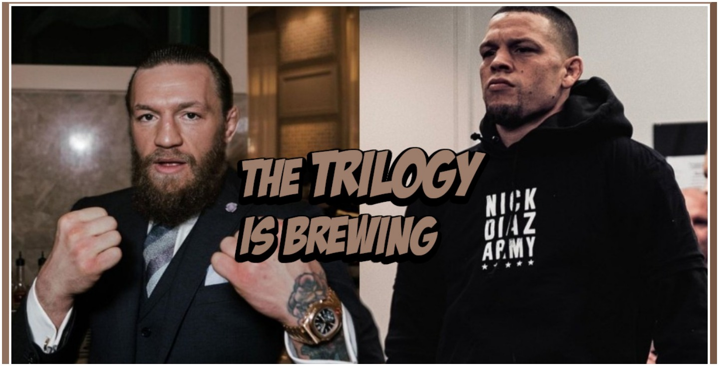 """Conor McGregor tells Nate Diaz to """"Shut Up and Sign the Contract"""" for a Trilogy Fight"""