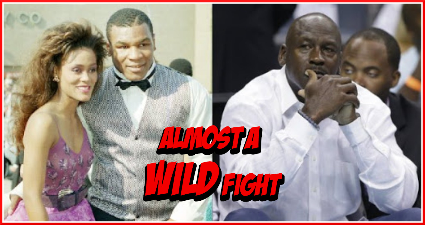 """""""Iron"""" Mike Tyson Allegedly Almost KO'd Michael Jordan at a Party in 1998"""